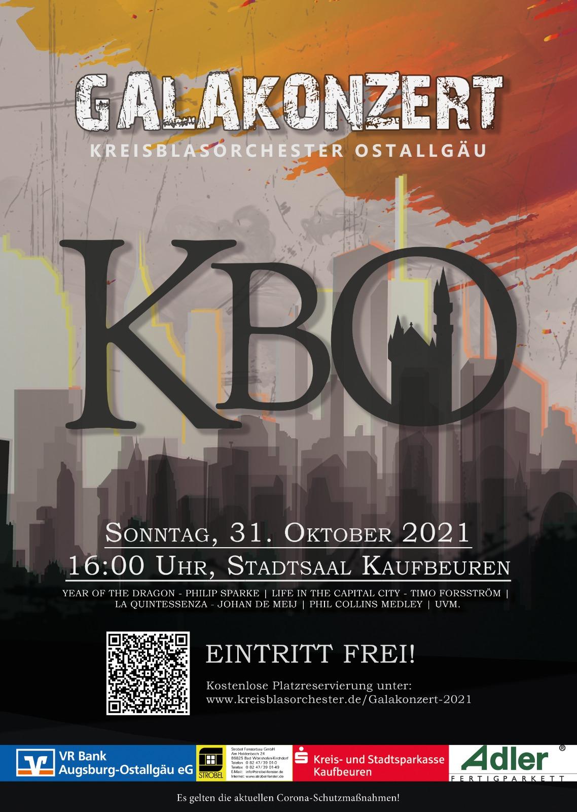 Galakonzert 2021 - Kreisblasorchester Ostallgäu